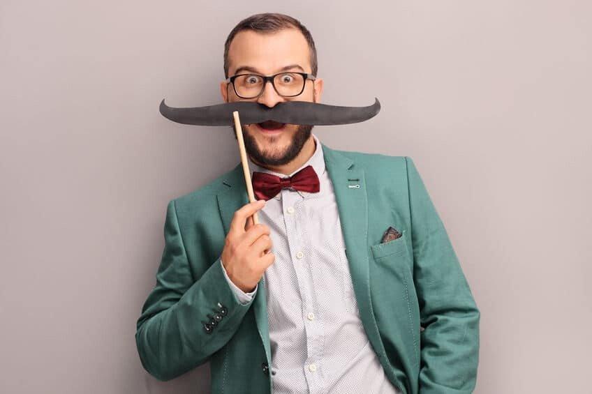 Mustache Trimming