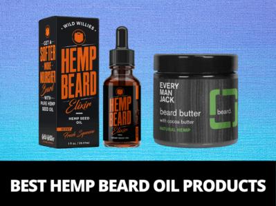 hemp seed oil for beard