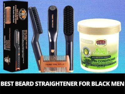 best beard straightener for black men