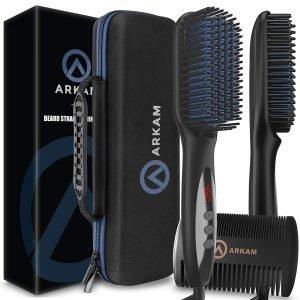 Arkam Deluxe Beard Straightener for Men